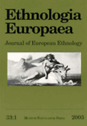 9788772898995: Ethnologia Europaea Volume 33/1 (Ethnologia Europaea: Journal of European Ethnology) (v. 33:1)
