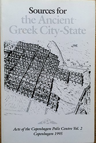 9788773042670: Sources for the Ancient Greek City-State