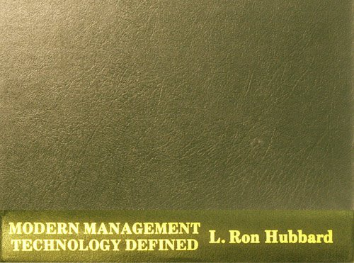 9788773362730: Modern Management Technology Defined