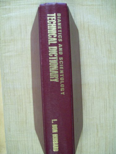 9788773363362: Dianetics and Scientology Technical Dictionary
