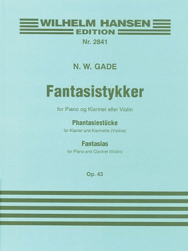 Fantasia Clarinet Piano Abebooks