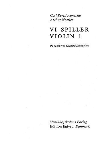 9788774841005: Vi Spiller Violin 1