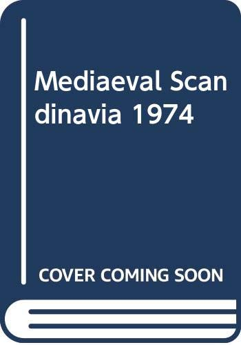 Mediaeval Scandinavia 1974