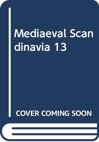 Mediaeval Scandinavia 13: Bekker-Nielsen, Hans