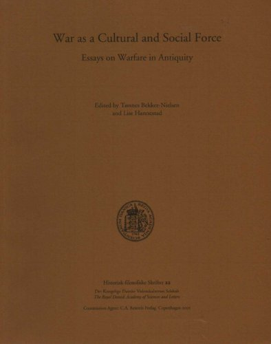 9788778761873: War as a Cultural and Social Force: Essays on Warfare in Antiquity