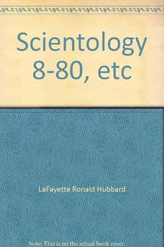 9788787347013: Scientology 8-80