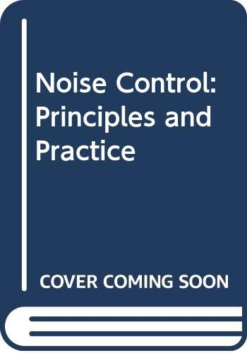 9788787355421: Noise Control: Principles and Practice