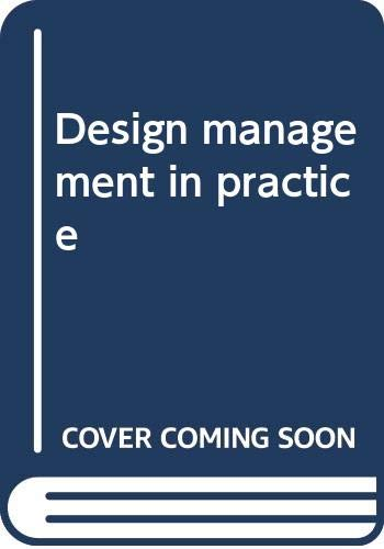 9788787385367: Design Management in Practice