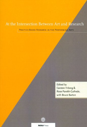 9788787564182: At the Intersection Between Art & Research: Practice-Based Research in the Performing Arts