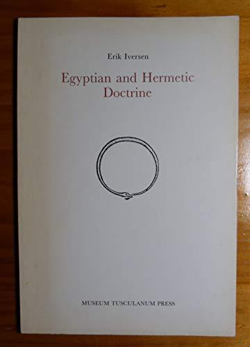 9788788073782: Egyptian and Hermetic Doctrine (Opuscula Graecolatina S.)