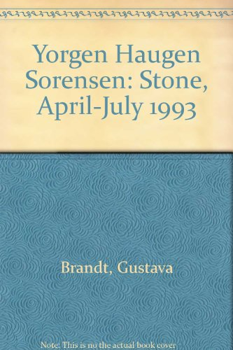 Yorgen Haugen Sorensen: Stone, April-July 1993 (8788944263) by Gustava Brandt; Torben Holck Colding; Peter Murray; Borge Birch