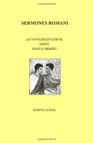 9788790696078: Lingua latina per se illustrata: sermones romani