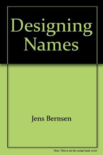 9788790904180: Designing Names