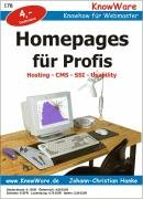 9788791364075: Homepages für Profis. Hosting, CMS, SSI, Usability