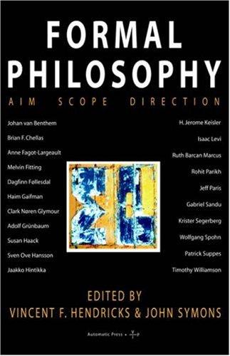 9788799101306: Formal Philosophy