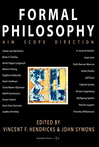9788799101313: Formal Philosophy