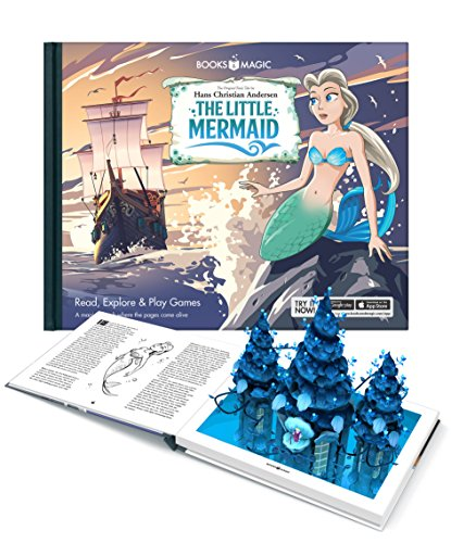 9788799878819: The Little Mermaid - A Magical Augmented Reality Book