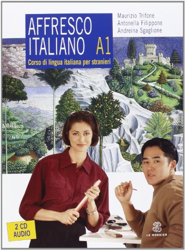 9788800203319: Affresco Italiano. Livello A1 (+ 2 CD Audio)