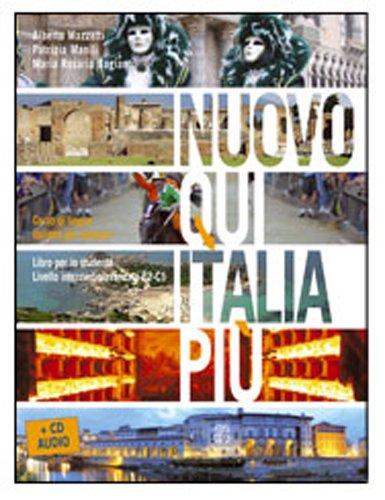 Nuovo Qui Italia Più. Livello B2-C1. Libro