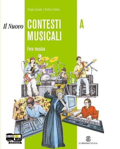 9788800206884: nuovo contesti musicali. Vol. A-B. Con CD Audio. Con CD-ROM