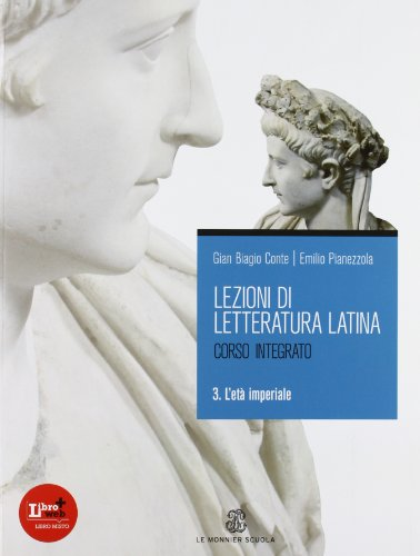 9788800209786: Lezioni di letteratura latina 3 L'età imperiale: Vol. 3