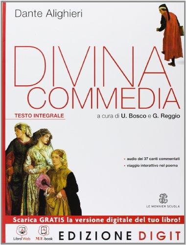 9788800222372: La Divina Commedia. Ediz. integrale. Con espansione online
