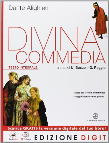 9788800222372: Divina Commedia - Volume unico. Con Me book e Contenuti Digitali Integrativi online