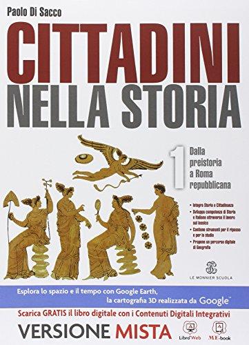 9788800224819: Cittadini nella storia. Per le Scuole superiori. Con e-book. Con espansione online: 1