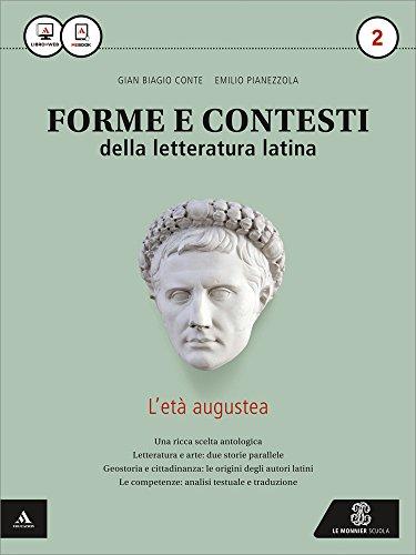 9788800227520: Forme e contesti della letteratura latina. Per i Licei e gli Ist. magistrali. Con e-book. Con espansione online: 2