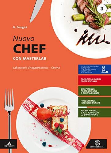 9788800360487: Nuovo chef con masterlab. Volume 3 + un aiuto allo studio. Per gli Ist. professionali. Con e-book. Con espansione online: 1