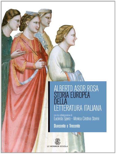 9788800412544: Storia europea della letteratura italiana. Per le Scuole superiori. Italia del Rinascimento (Vol. 1)