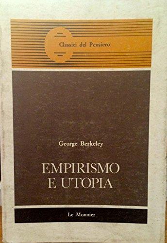9788800454858: Empirismo e utopia (Classici del pensiero)