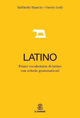 9788800510776: Primo dizionario di latino. Con schede grammaticali e apparati