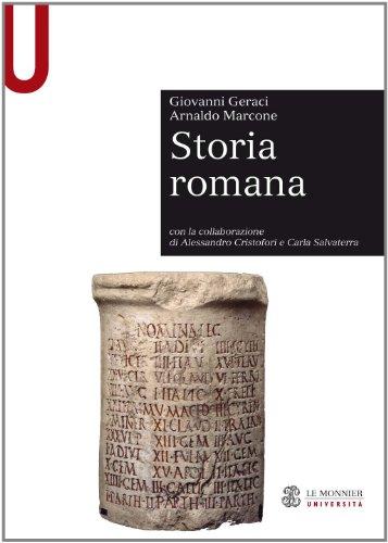 9788800740708: Storia romana (Le Monnier università. Sintesi)