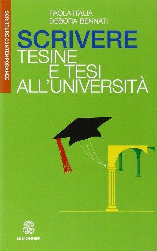 9788800744539: Scrivere tesine e tesi all'Università