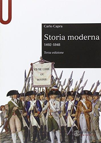 9788800746069: Storia moderna 1492-1848
