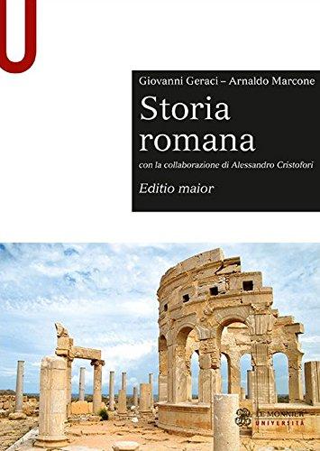 9788800746991: Storia romana. Editio maior (Sintesi)