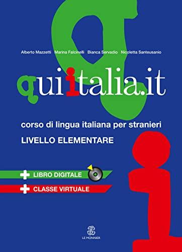 9788800802680: Qui Italiait. Livello A1-A2. Libro (+ CD MP3)