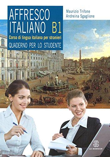 9788800805872: Affresco italiano. Quaderno per lo studente. Livello B1