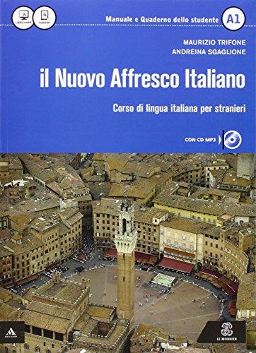 9788800807043: Il nuovo affresco italiano A1. Corso di lingua italiana per stranieri. Con CD Audio