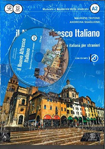 9788800807098: Il nuovo Affresco italiano A2. Corso di lingua italiana per stranieri. Con CD Audio