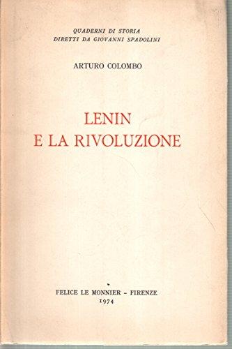 Lenin e la rivoluzione.: Colombo,Arturo.