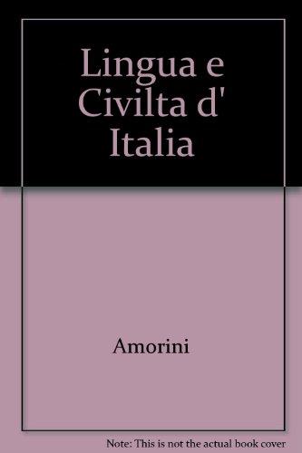 9788800852944: Lingua e Civilta d' Italia (Italian Edition)