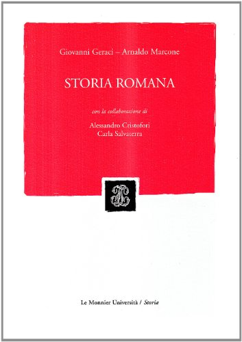 9788800860826: Storia romana (Le Monnier università)
