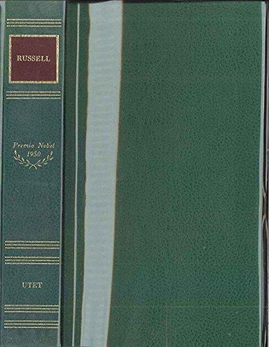 9788802014418: Da: L'autobiografia di Bertrand Russell-Panorama scientifico-Da: L'età atomica: Satana nei sobborghi e altri racconti. Nobel 1950 (Scrittori del mondo. I Nobel)