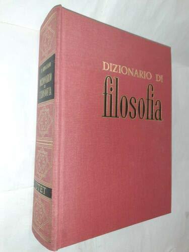 9788802014944: Dizionario di filosofia