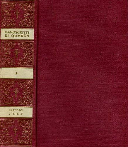 9788802039268: I manoscritti di Qumran