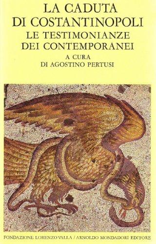 9788804134312: La caduta di Costantinopoli: 1