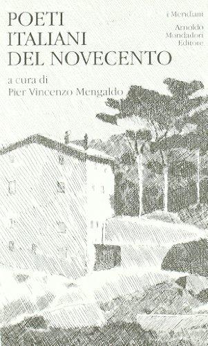 9788804155003: Poeti italiani del Novecento
