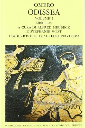 9788804192534: Odissea vol. 1 - Libri I-IV